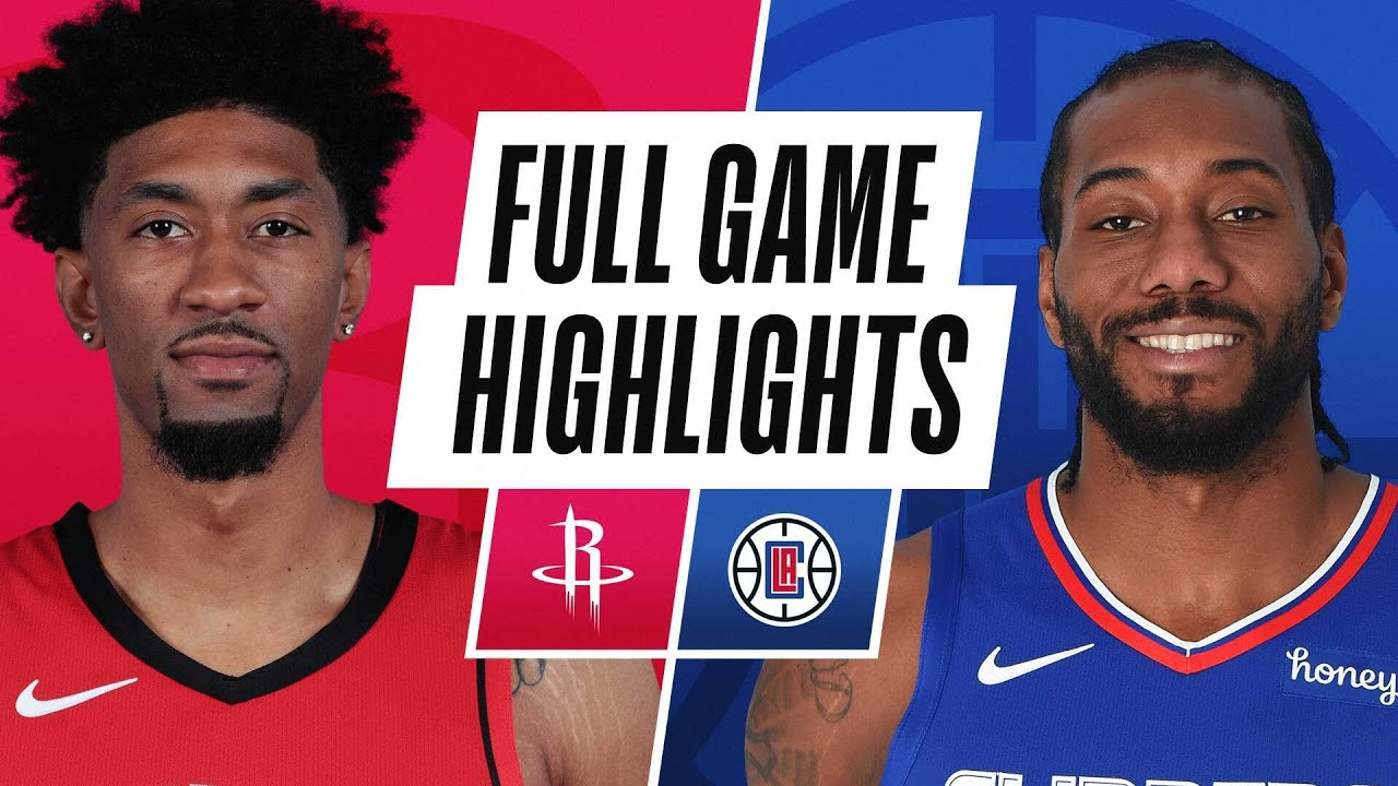 ROCKETS at CLIPPERS | FULL GAME HIGHLIGHTS | April 9, 2021