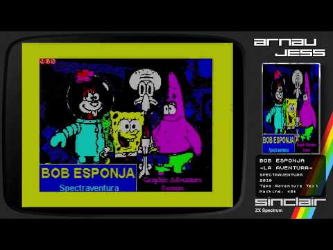 BOB ESPONJA -La Aventura- Zx Spectrum by Spectraventura