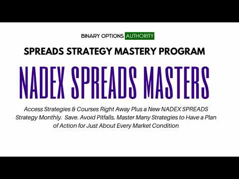 NADEX Spreads Masters Program Review and Overview