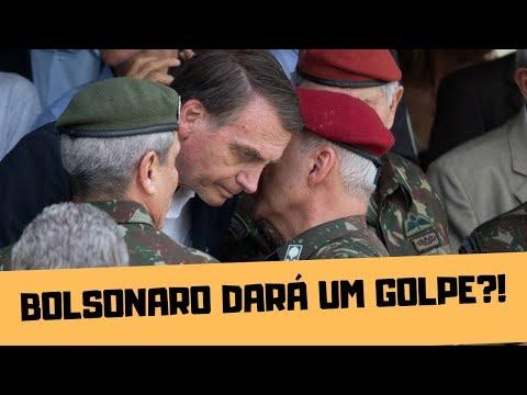VAI ROLAR UM GOLPE MILITAR NO BRASIL?! SE DEPENDER DO OLAVO, SIM
