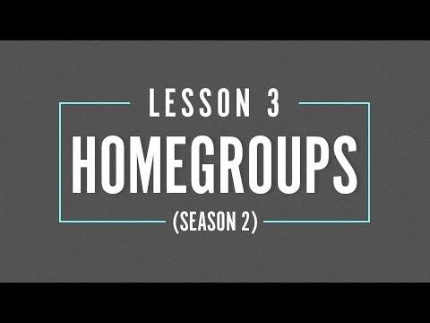 HOME GROUP Season 2 - LESSON  3 - Spiritual Wilderness