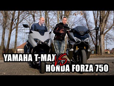 Új sheriff a városban – összehasonlító: Honda Forza 750 vs. Yamaha TMAX 560