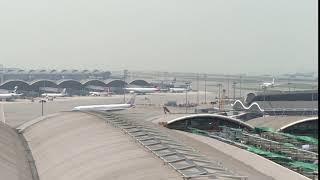 China Airlines A330 at Hong Kong Airport
