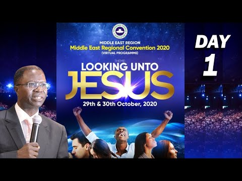 RCCG MIDDLE EAST REGIONAL CONVENTION 2020  DAY 1