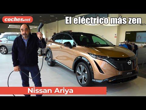 Nissan ARIYA 2021   Primer vistazo en exclusiva / Walkaround en español   SUV eléctrico   coches.net