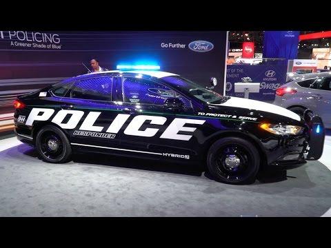 Ford Police Responder Hybrid - 2017 New York Auto Show