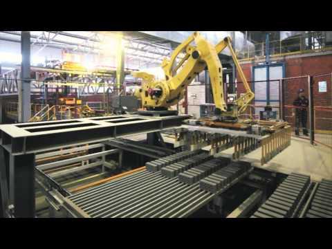 Производство кирпичных блоков завода Кетра