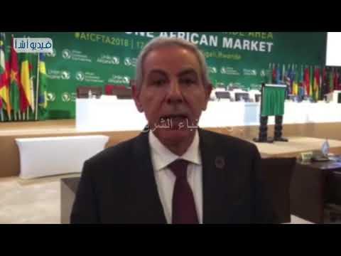 بالفيديو:مصر و43 دولة افريقية يوقعون اتفاق التجارة الحرة القارية الافريقية بالعاصمة الرواندية كيجالى
