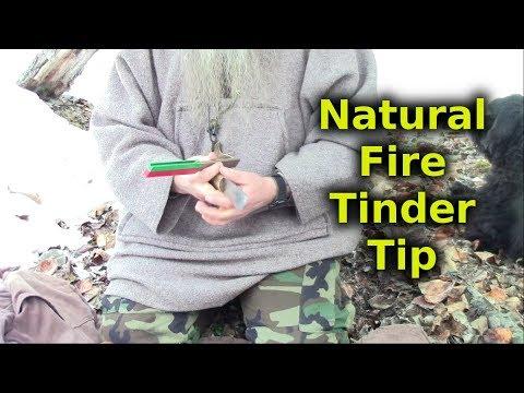Ferro Rod Fire Tinder Tip