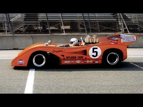 McLaren?s amazing Can-Am cars reunite at Laguna