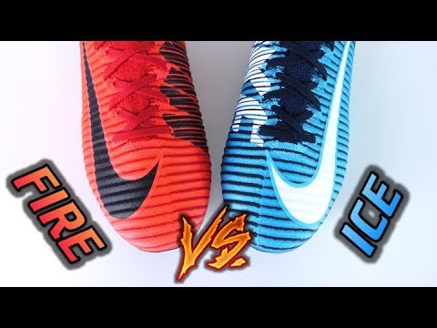 HOT vs COLD! - Nike Mercurial Superfly 5 (Fire & Ice Pack) - Review + On Feet - default