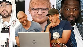 Ed Sheeran - Remember The Name (feat. Eminem & 50 Cent) REACTION!! HOW IS THIS REAL?!?!