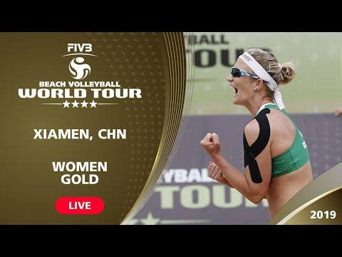 Xiamen 4-Star 2019 - Women Gold Medal - Beach Volleyball World Tour