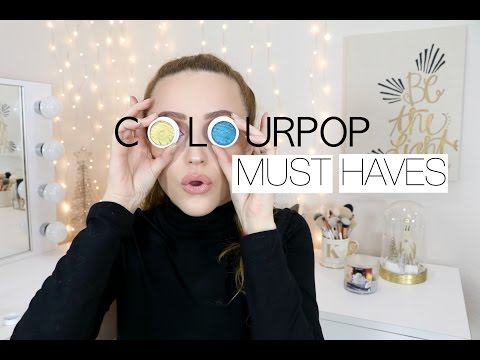 Best Of COLOURPOP | My Favorite Products - UPDATED
