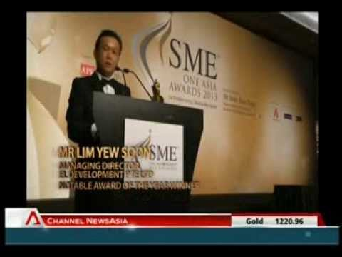 SME ONE ASIA AWARDS  _ CNA 04 Dec 2013