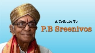 A Tribute to PB Sreenivos Vol 1