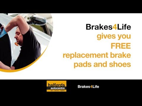 Brakes4Life from Halfords Autocentres