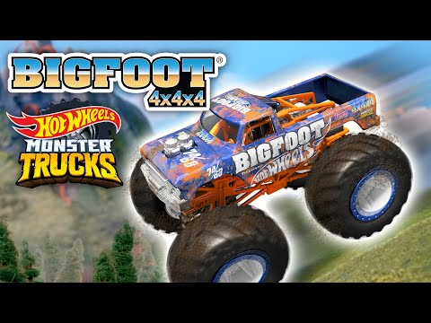 @Hot Wheels    The Best of BIGFOOT! 🔥   Monster Trucks