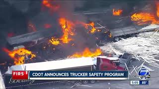 CDOT announces trucker safety program