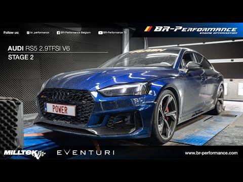 Audi RS5  2.9TFSI V6 BiTurbo / Stage 2 By BR-Performance / Milltek Exhaust