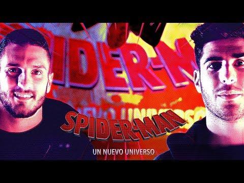 SPIDER-MAN: UN NUEVO UNIVERSO. Marco Asensio y Koke Resurrección también llevan máscara.
