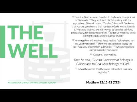 A Reflection for Political Times (Matthew 22:15-22)