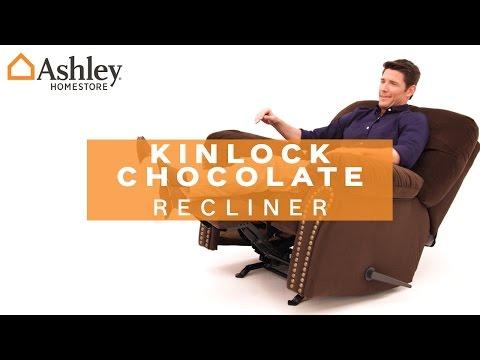 Ashley HomeStore   Kinlock Chocolate Recliner