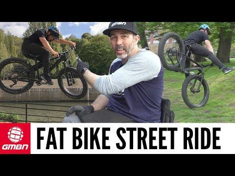 "Can You Ride Street On A Fat Bike""   MTB Skills"