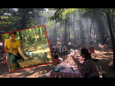 Mangalını Kapan Belgrad Ormanı'n Akın Etti, Adım Atacak Yer Kalmadı