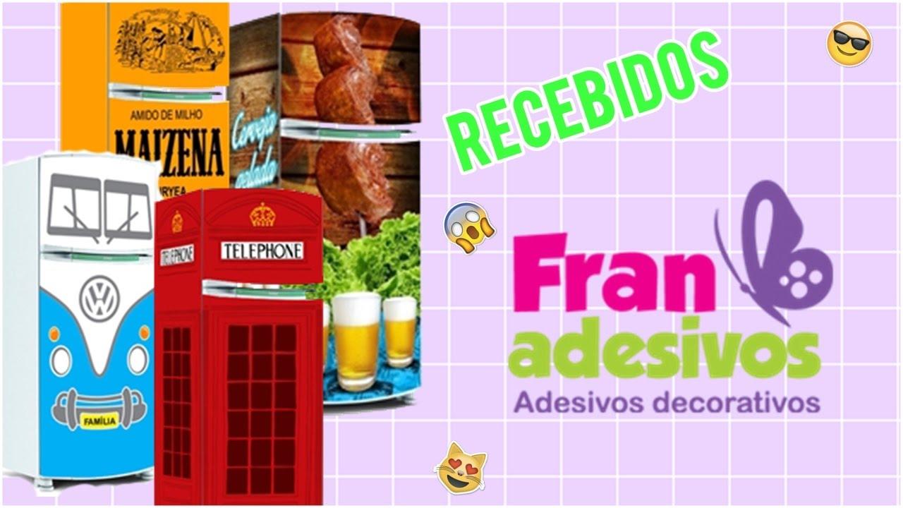 Como envelopar a geladeira-Super Fácil/Fran Adesivos