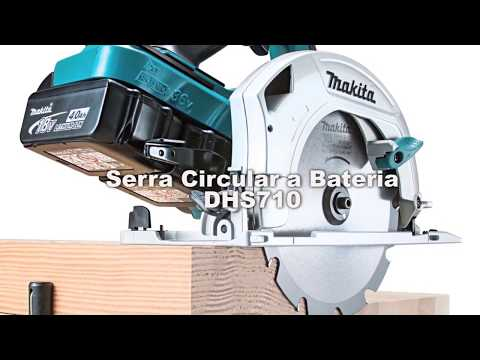 MAKITA Serra Circular Bateria DHS710 18Vx2