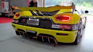 $2.5 MILLION KOENIGSEGG AGERA RS 'ML' RACING ON TRACK!
