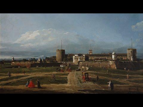 Bellotto e Canaletto a Milano
