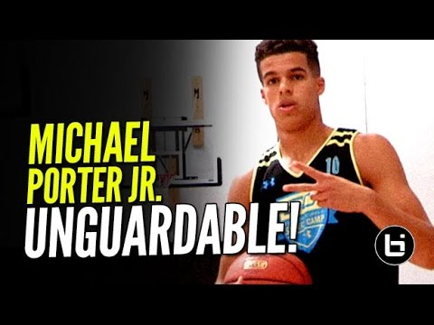 Michael Porter Jr Is The Best Scorer In High School | Official Ballislife Mixtape!