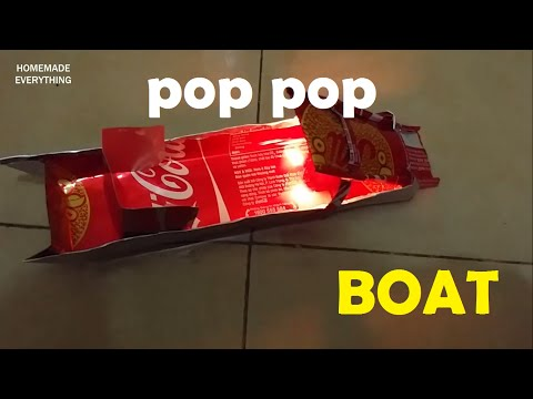 How to Make a Pop Pop Boat without using Glue | making toy - UCOnoQYeFSfH0nsYv0M4gYdg
