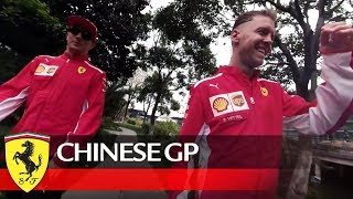 Chinese Grand Prix – Getting ready