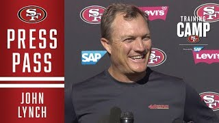 John Lynch Discusses the Benefits of Joint Practices with the Denver Broncos