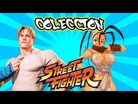 COLECCION FIGURAS STREET FIGHTER ENTREGAS 24 Y 25