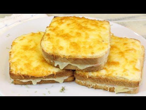 Sandwich croque monsieur EL MEJOR SANDWICH DEL MUNDO