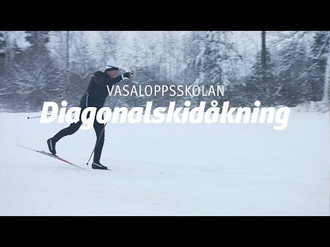 Vasaloppsskolan – Diagonalåkning (Träna på snö del 1 av 4)