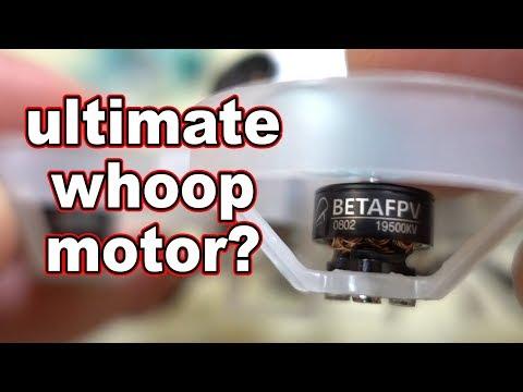 BetaFPV 0802 19500kv Whoop Motor Review  - UCnJyFn_66GMfAbz1AW9MqbQ