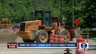 Hamilton County sewer bills could jump 70 percent by 2030