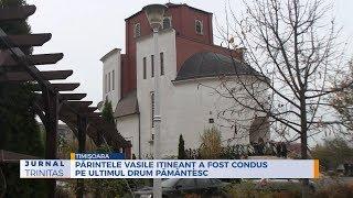 Parintele Vasile Itineant a fost condus pe ultimul drum pamantesc