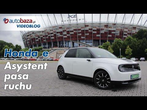 Honda e - jak działa asystent pasa ruchu