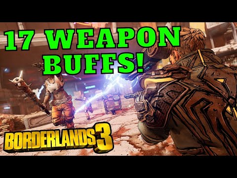 17 Weapon Buffs Tested and Ranked! Borderlands 3  SOME OF THESE ARE GOD TIER
