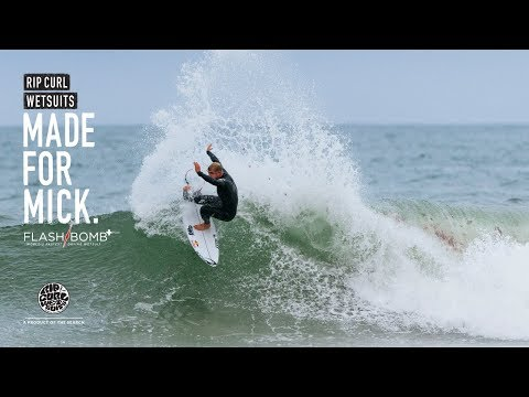 Mick Fanning | Made For Waves 2018 | Wetsuits by Rip Curl