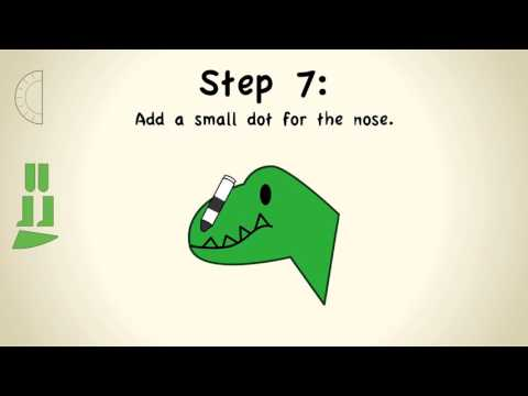 """How to Make a Paper Plate Dino"" The Angels from the Magical Attic"
