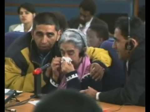 Testimony of Hawa Timol about her son, AHMED TIMOL, to the Human Rights Violation Committee of the TRC, 30 April 1996 (Courtesy of the SABC)