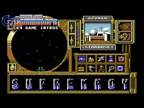 C64 Game Intro: Supremacy: Your Will Be Done / Overlord (Probe Software/Melbourne House,1991)