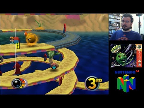 IGGY´S RECKIN BALLS (Nintendo 64) - Carreras alocadas en N64 || Gameplay en Español